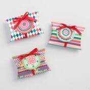 Global Gatherings Patterned Gift Pouches Set of 3
