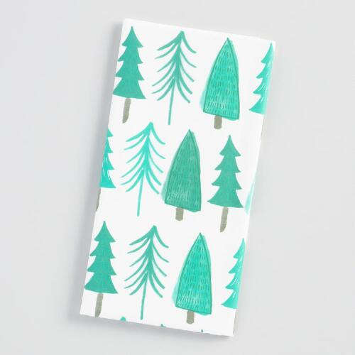 Woodland Trees Tissue Paper Set of 2