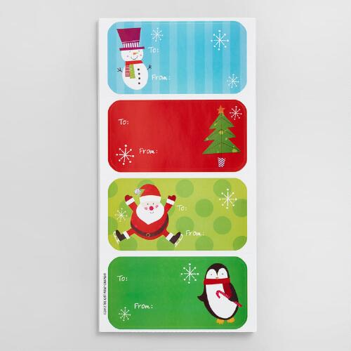 Holiday Gift Labels Set of 2