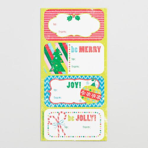 Christmas Gift Labels Set of 2