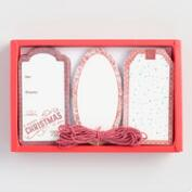Red Holiday Gift Tags 36 Count