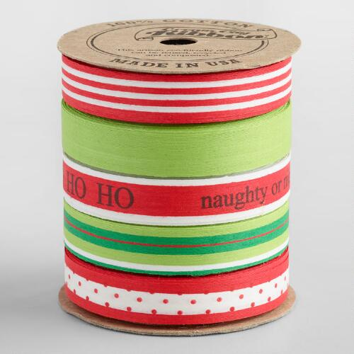 Biodegradable Cotton Ribbon 5 Pack