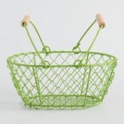 Mini Aqua Wire Baskets Set of 2