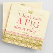 Downton Abbey Fig Beverage Napkins 20 Count