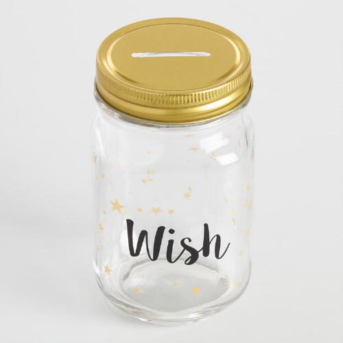 Glass Wish Jar