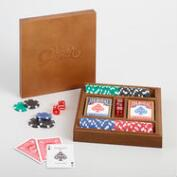 Wood Poker Set