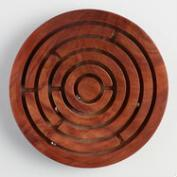 Wood Labyrinth Game