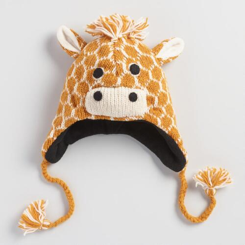 Wool Giraffe Hat