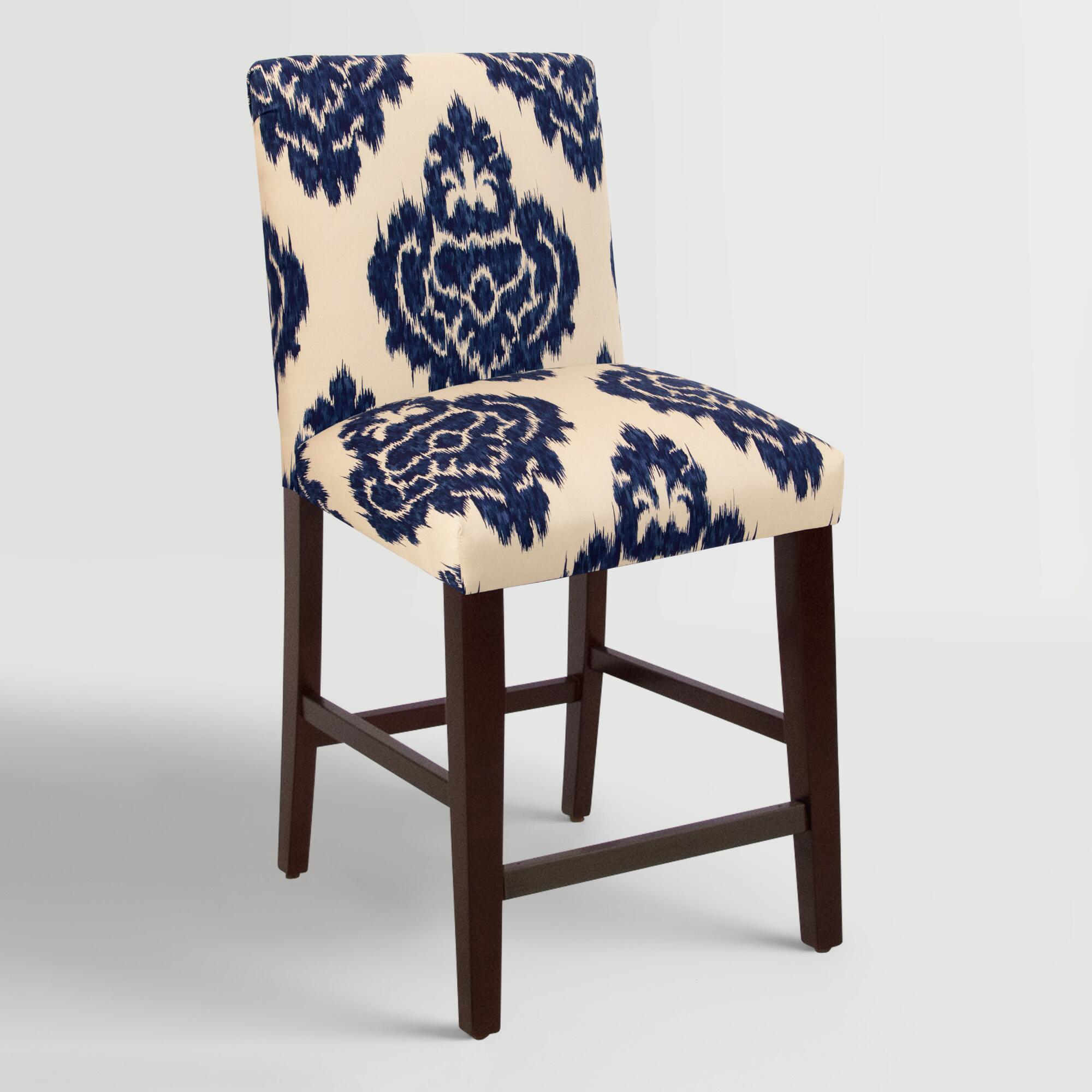 Blue Diamond Kerri Upholstered Counter Stool World Market