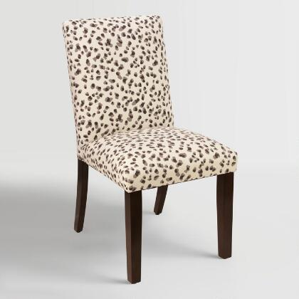 Snow Leopard Kerri Upholstered Dining Chair