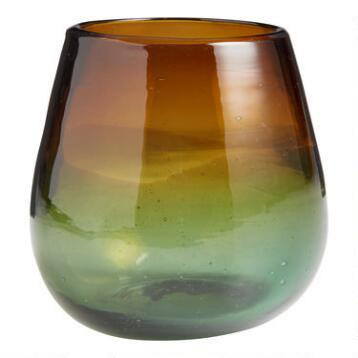 Ombre Monterey Stemless Wine Glasses Set of 4