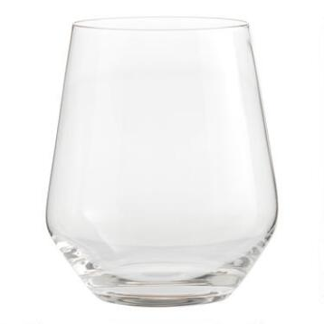 Vintner Stemless Wine Glasses Set of 6