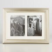 Silver Ravello  2 Photo Frame