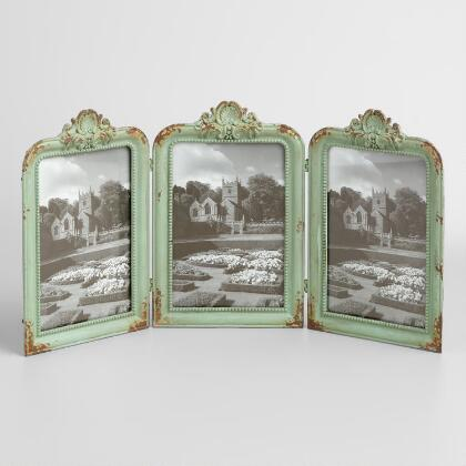 Mint Metal 3 Photo Frame