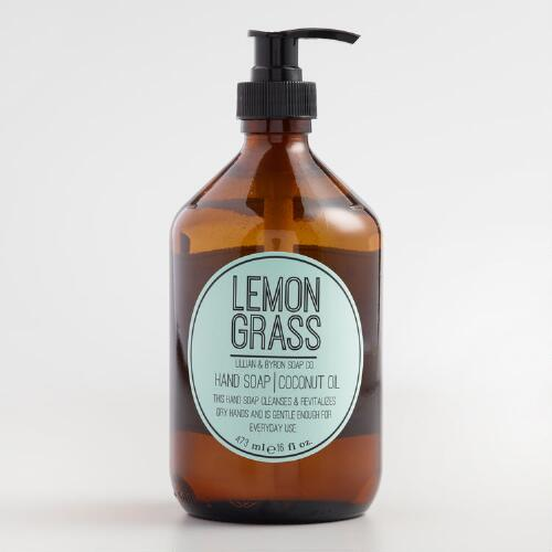 Lillian & Byron Lemongrass Hand Soap