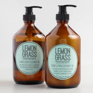 Lillian & Byron Lemongrass Hand Care Collection