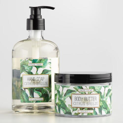 Pacific Palms Citrus Breeze Hand and Body Collection