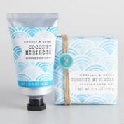 A&G Seaside Coconut Hibiscus Bath and Body Collection