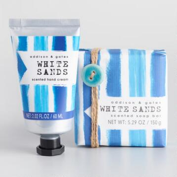 A&G Seaside White Sands Bath and Body Collection