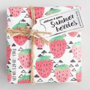 A&G Pop Art Summer Berries Bar Soap Set of 2