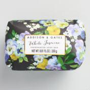 A&G Modern Floral White Jasmine Bar Soap