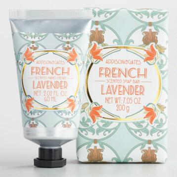 A&G Deco French Lavender Bath and Body Collection