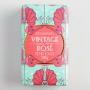 A&G Deco Floral Vintage Rose Bar Soap Set of 2