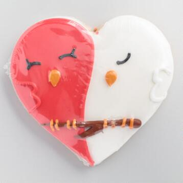 Love Bird Cookies Set of 4