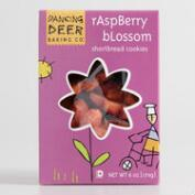 Dancing Deer Raspberry Blossom Shortbread Cookies