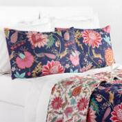 Floral Indigo Laila Bedding Collection