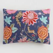 Floral Indigo Laila Pillow Shams Set of 2