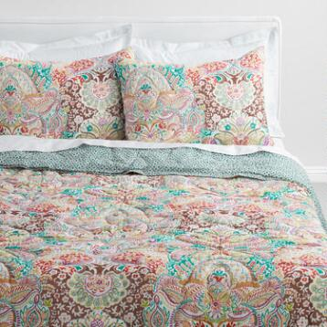 Indian Damask Gianna Reversible Quilt