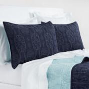 Indigo Simone Bedding Collection