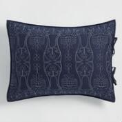 Indigo Simone Reversible Pillow Shams Set of 2