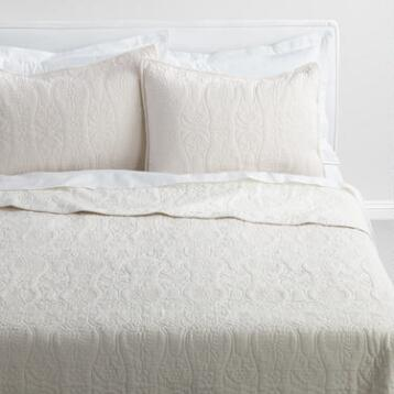 Natural Linen Simone Bedding Collection