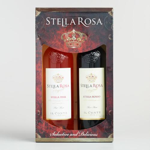 Stella Rosa Rosso and Pink Wine Gift Set 2 Pack