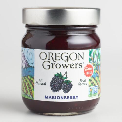 Oregon Growers Marionberry Jam