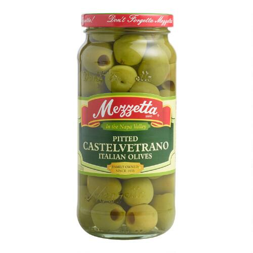 Mezzetta Pitted Castelvetrano Olives