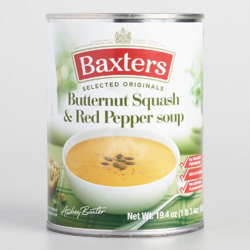 Baxters Butternut Squash and Red Pepper Soup