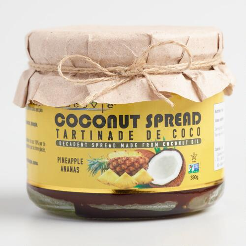 Cocovie Pineapple Coconut Spread