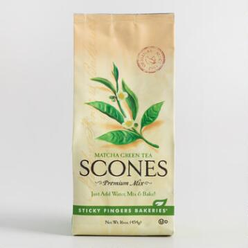 Sticky Fingers Matcha Scone Mix Set of 6