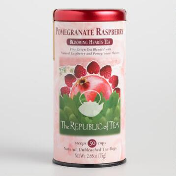 The Republic of Tea Pomegranate Raspberry Green Tea