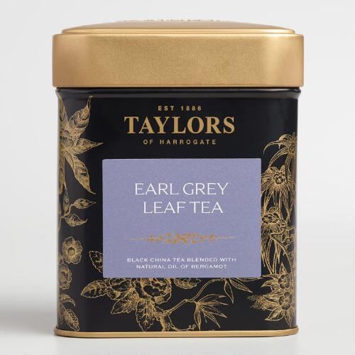 Taylors of Harrogate Earl Grey Tea Tin