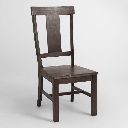 Distressed Dining Room Chairs: Distressed Wood Kenzie Dining Chair Set Of 2