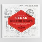Cedar Wood Grilling Wraps 8 Count