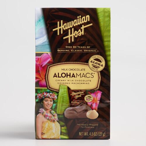 Hawaiian Host Milk  Chocolate Alohamacs