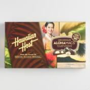 Hawaiian Host Dark Chocolate Alohamacs Box