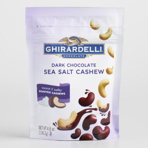 Ghirardelli Dark Chocolate Sea Salt Cashews