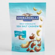 Ghirardelli Milk Chocolate Sea Salt  Cashews
