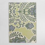 Yellow Summer Goddess Indoor Outdoor Rio Floor Mat